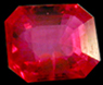 Gemstone quality Ruby, valued at $2,600.00